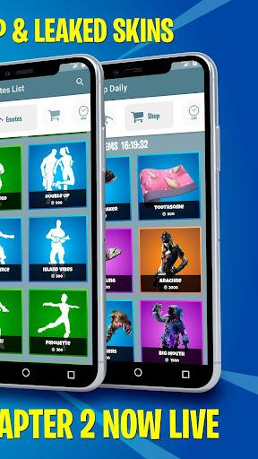 Battle Royale Skins, Emotes & Daily Shop - FBRCat screenshot 3