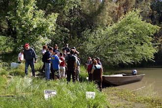 Photo: Putah Creek - Camp Putah Area - Dr Peter Moyle UCD fishery class