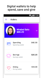 Current debit card and app made for teens- screenshot thumbnail