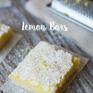 Cool and Dreamy Lemon Bars.