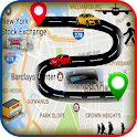 GPS Search Map Route Navigate icon