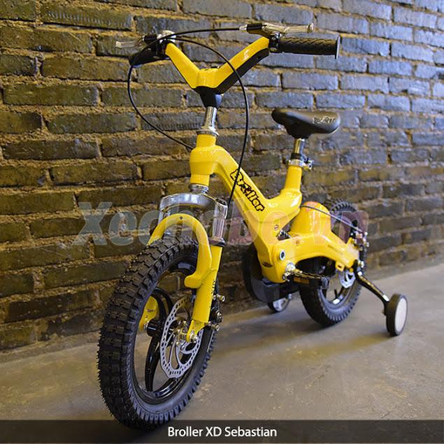 xe đạp cho bé học cấp 1
