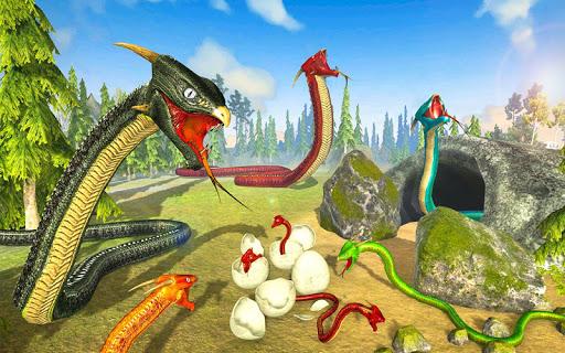 Télécharger Snake Simulator Anaconda Attack Game 3D APK MOD (Astuce) screenshots 3