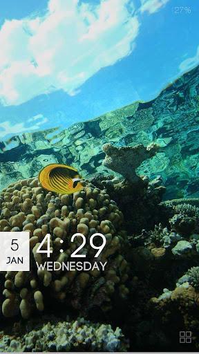 ZUI Locker Theme - Under Sea