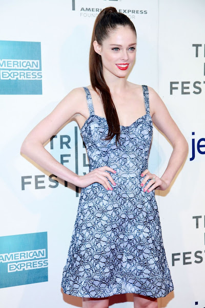 "Photo: At the premire of Morgan Spurlock's ""Mansome"" premier at the Tribecca Film Festival. 4/21/12"
