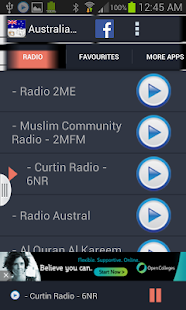 Australia Radio News- screenshot thumbnail