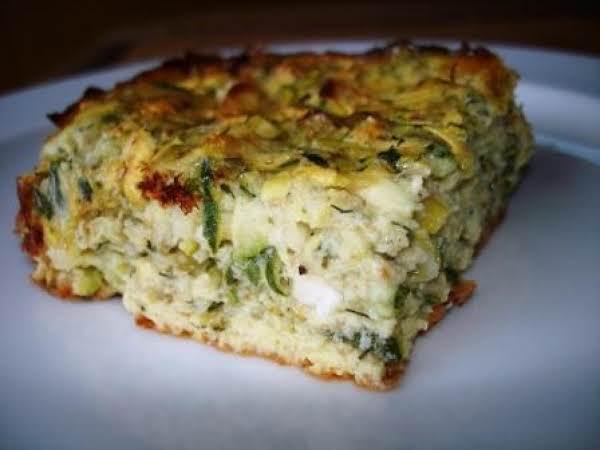 Zucchini Squares Recipe