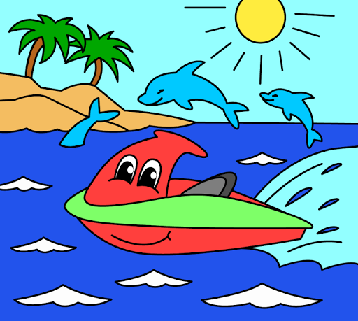 Coloring pages for children : transport  screenshots 21
