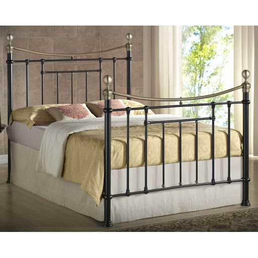 Birlea Bronte Bed Frame Cream
