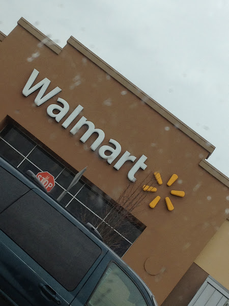 Photo: It's a rainy shopping day. Time to head into Walmart, store #3565!