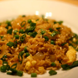 Fried Rice with Saffron, Ginger, and Tomatoes (Arroz Frito Aortuguesa).