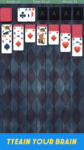Solitaire Classic Cardgame - Free Poker Games screenshots 3