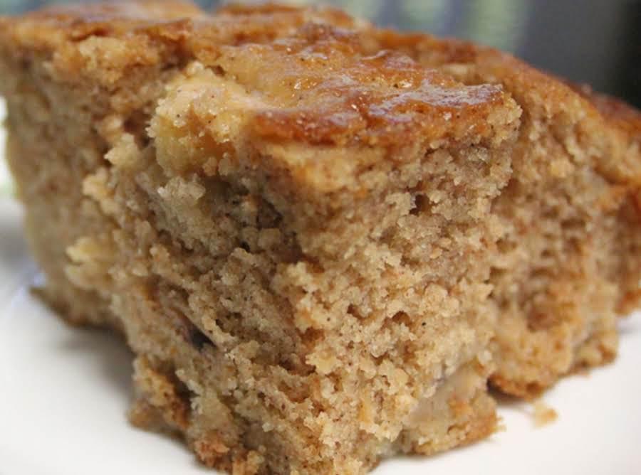 Easy Apple Cake Oil