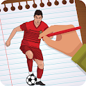 Draw Famous Football Players 2018 icon