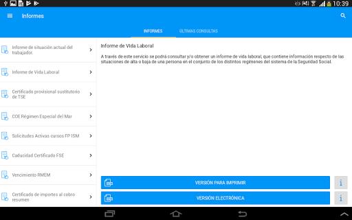 Seg-Social Seg. Social Móvil screenshot 10