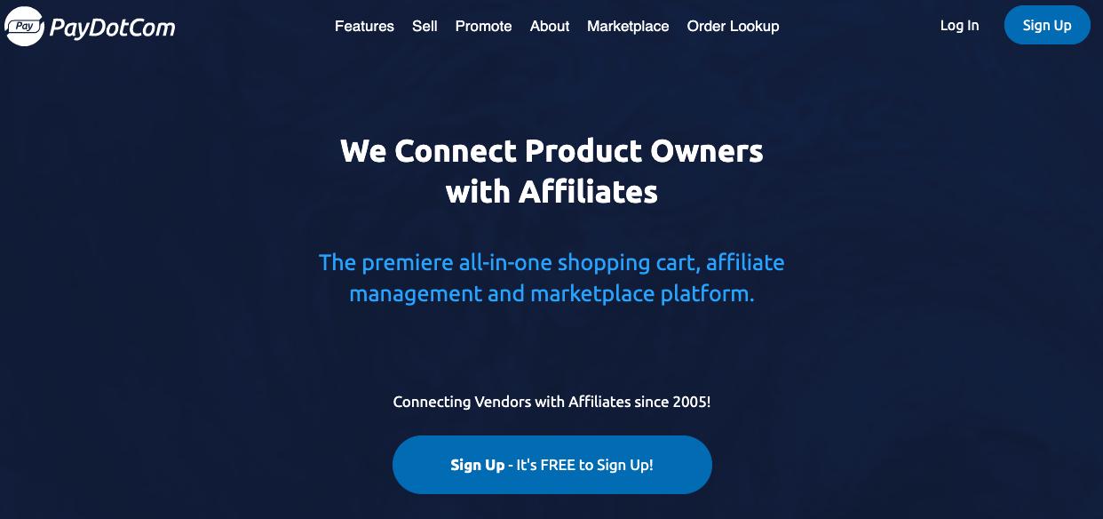 How to Find Affiliate Programs paydotcom