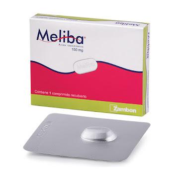 Meliba 150Mg Comprimido   Caja x1Com. Zambon Ácido Ibandrónico