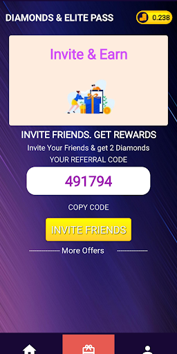 Free Diamonds And Elite Pass screenshot 3