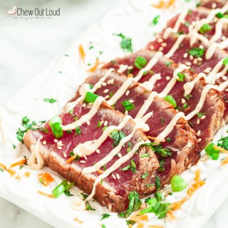 Marinated Seared Ahi