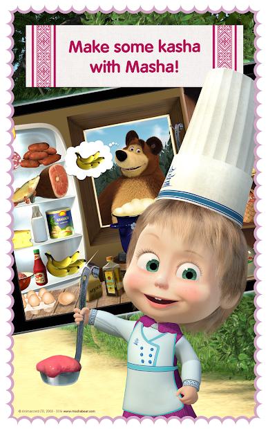 Masha and Bear: Cooking Dash screenshot 11