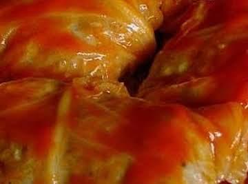 Nana's Golabki (Polish Stuffed Cabbage)