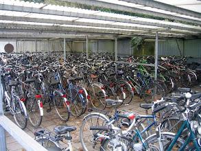 Photo: Gare d'Opwijk, un des parkings à vélos