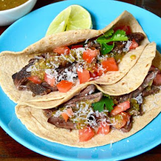 Simple Short Rib Tacos with Homemade Tomatillo Salsa