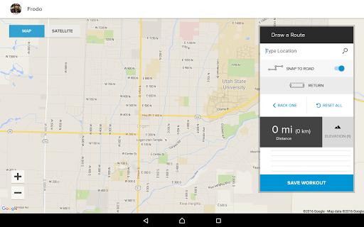 iFit Bluetooth Tablet App  screenshots 5