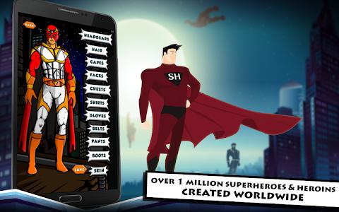 Superhero Maker HD v1.0 (Mod Money/Ultimate Kills)