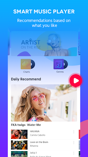 Free Music - Music Player & MP3 Player & Music FM screenshot 2