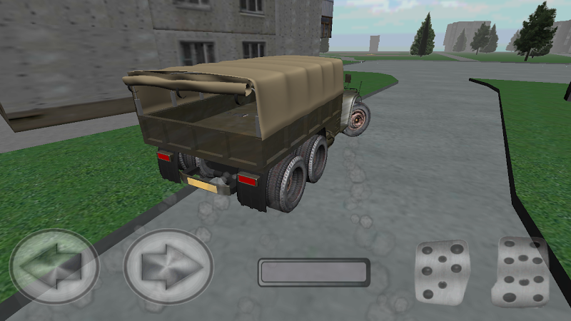 Скриншот KRAZ simulator
