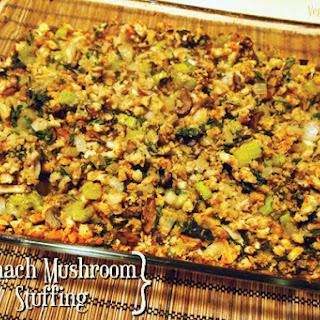 Spinach Mushroom Stuffing