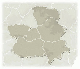 Photo: Mapa Castilla - La mancha (líneas)