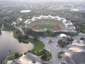 Photo: .......... en uiteraard het Olympisch Stadion waar pas morgen de wedstrijd is.