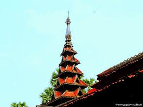 Photo: #008-Inwa (Ava), le monastère Bagaya Kyaung.