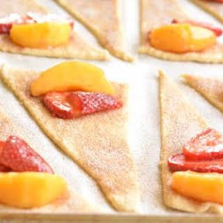 Strawberry Peach Pie Bites.