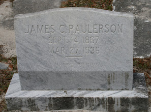 Photo: James C Raulerson son of John Milledge Raulerson and Annie Johns / Husband of Mahaley Yarbrough