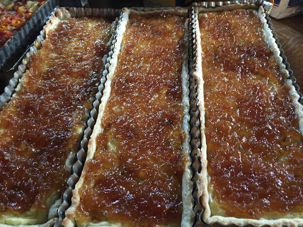 Caramelized Onion Jam On Tarts