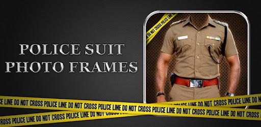 police photo frame online