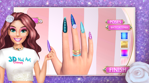 3D Nail Art Games for Girls 3.0 Screenshots 2
