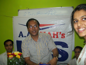Photo: UPSC Toppers Seminar 2012 with Toppers Priyanka Singhla 2011 AIR 86 & Abhijeet Chaudhary 2011 AIR 206 at A A SHAH's IAS Institute, NERUL