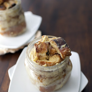 Bread Pudding in a Jar