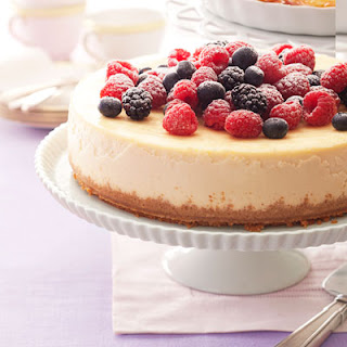 Berry-Ricotta Cheesecake