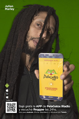 PelaGatos Reggae Music Radio - screenshot