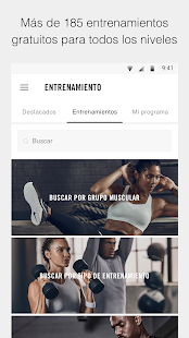 Nike Training Club: entrenamientos y programas Screenshot