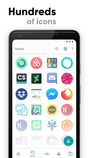 Screenshot for CandyCons Unwrapped - Icon Pack in Hong Kong Play Store