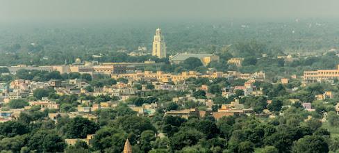 Photo: View of campus from Pahadi