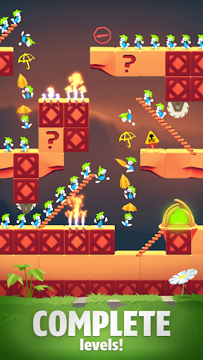 Lemmings - Puzzle Adventure 4.02 screenshots 1