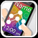 My Name Pattern Lock Screen icon