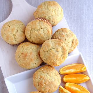 Orange Muffins – Egg less Orange Muffins.